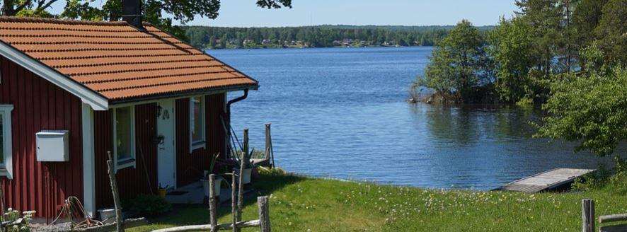 Camping eller stort hus?